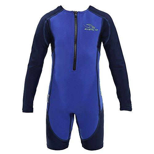 Aqua Sphere Stingray manga larga Wet Suit, Azul, tamaño 08