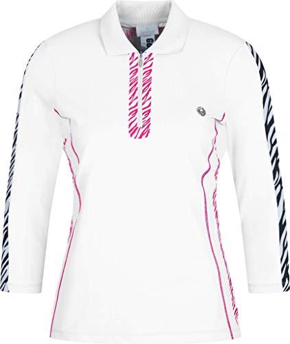 Sportalm Damen Poloshirt Größe 34 EU Weiß (weiß)