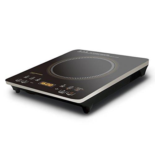 ecHome 2000W elektrische infrarood glas keramische kookplaat digitale Touch enkele