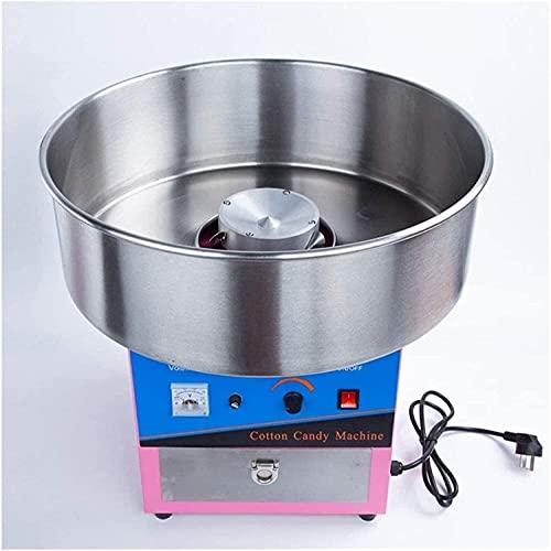 TYSJL Máquina de algodón Máquina Máquina Máquina Máquina Candy Floss FLOSHER Comercial 1000W, Adecuado para Varias Fiestas (Tamaño: 32x32x49cm) (Size : 32x32x49cm)