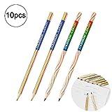 10 pc Arcobaleno penna 4 colori Core matita creativi Penna Multicolore Scuola di cancelleria cartoleria regalo dei capretti