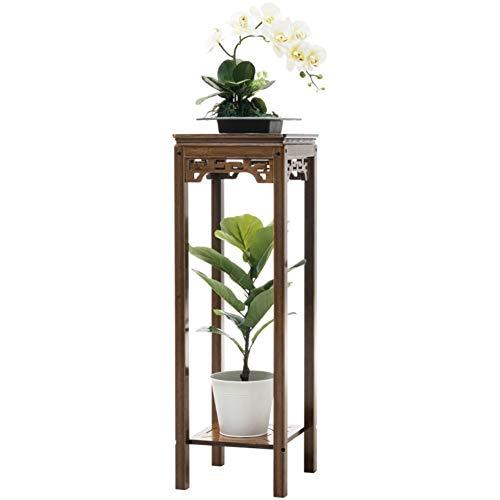 Rack Fleur Cadre de jardin sur pied, tridimensionnel, plante, pot de fleur  en bois massif, présentoir, minimaliste moderne Jardinage Shelf (Size : S)