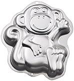 Wilton Monkey Cake Pan, Kids 3D Birthday Cake Pan