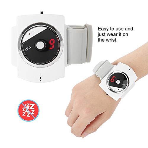 XRZS Muñequera Antirronquidos Dejar para Roncar con USB Recargable Dispositivos Antirronquidos con Biosensor Reloj Antirronquidos con Engranaje Ajustable para Mujeres Y Hombres