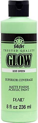 FolkArt glow in the dark paint, 8 oz, Neutral 8 Fl Oz