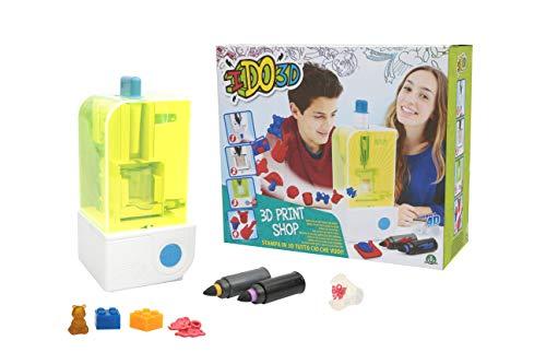 Giochi Preziosi- Ido Print Creator Stampante per Creare Oggetti 3D, Multicolore, D3D11000