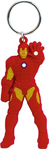 Marvel Iron Man Laser Cut Llavero de Goma