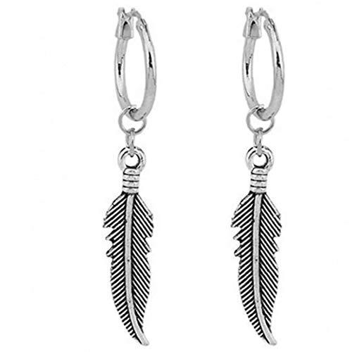 asdfwe Blatt-Ohrringe, Tropfen Baumeln Ohrring- Tropfen-Ohrringe Baumelnden Schmuck Dekoration 1pair