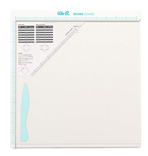 We R Memory Keepers 0633356602576 Score Board Tool-Basic (3 Piece), Off White |