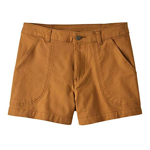 Patagonia W's Stand Up Shorts, Pantalone Corto Donna, Marrone Terra d'ombra, 12