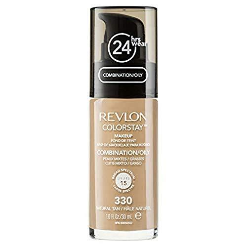Revlon ColorStay Base de Maquillaje piel mixto/graso FPS15 (#330 Natural Tan) 30ml