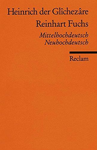 Reinhart Fuchs: Mittelhochdt. /Neuhochdt.