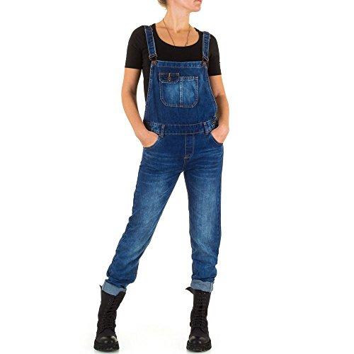 Laulia Damen Overall Gr. S/34, blau