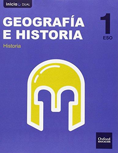 Geografía E Historia. Libro Del Alumno. Castilla León. ESO 1 (Inicia) - 9788467358926 (Inicia Dual)