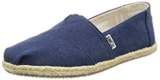 TOMS Seasonal Classics Navy Washed Canvas Rope Sole 6 (B01H61BOHS) | Amazon price tracker / tracking, Amazon price history charts, Amazon price watches, Amazon price drop alerts