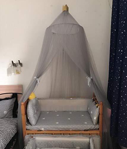 Schattig en lief 7 kleuren Opknoping Kids Baby Bedding Dome Bed Canopy Cotton Klamboe Dekbedhoes gordijn for Baby Kids Reading Spelen Decor van het Huis hjm wenzhang