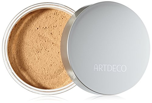 Artdeco Make-Up femme/woman, Mineral Powder Foundation Nummer 8 Light tan (15g), 1er Pack (1 x 15 g)