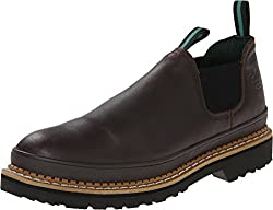 best pull-on boots for men with steel toe cap
