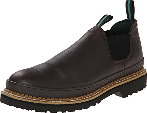 Georgia mens Giant Romeo Shoe-m Georgia Steel Toe Work Boot, Soggy Brown, 10.5 US