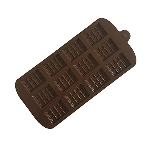 GARLIC PRESS 1Pcs Molde Tableta de Chocolate de Silicona molde para Dulces Pasteles Bloque Chocolate Cubitos de Hielo Herramienta de cocina