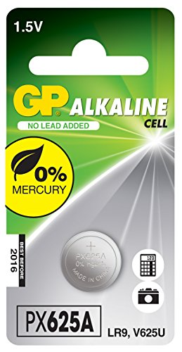 GP Batteries Alkaline Cell 625A Single-Use Battery Alcalino - Pilas (Single-Use Battery, Alcalino, 1,5 V, 1 Pieza(s), Acero Inoxidable, Ampolla)