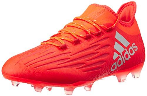 adidas Herren X 16.2 Fg Fußballschuhe, Rot (solar Red/silver Met,/hi-res Red), 44 EU