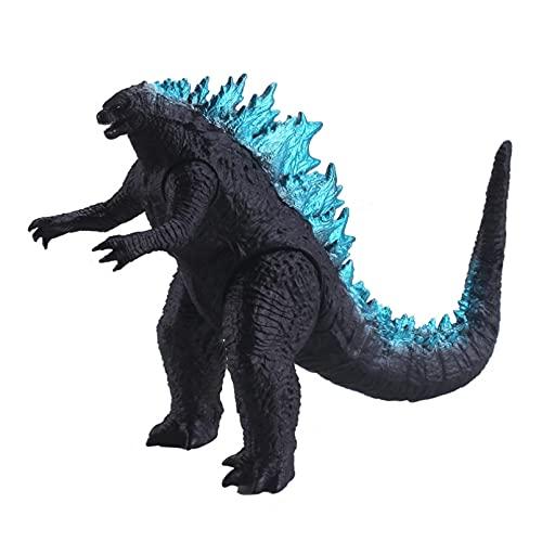 HUIQI Anime Figur Spielzeug ,Godzilla König der Monster Große Puppe Weichgummi Spielzeug Actionfigur PVC Modell Handmade Fury Dinosaurier Monster Joint Figma Beweglich