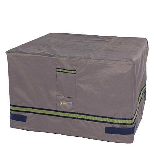 Duck Covers Soteria Water-Resistant 40 Inch Square Fire Pit Cover