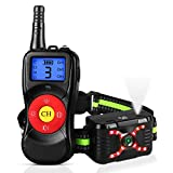 Zeonetak Dog Training Spray Bark Collar with Remote 4 in 1 Citronella Control Stop Barking Collar for Dogs Small Medium Large 2 Straps Adjustable Rechargeable Waterproof No Shock Harmless Humane