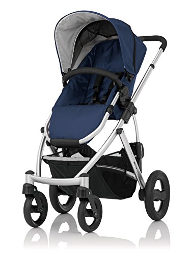 Britax 2000014508 Smile Kollektion 2015, Navy/Silver Chassis