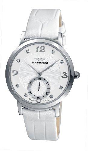 Sandoz 72564-00 – Reloj de Mujer de Cuarzo, Correa de Acero Inoxidable