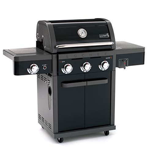 Sochef Grangusto Barbecue A Gas, Nero