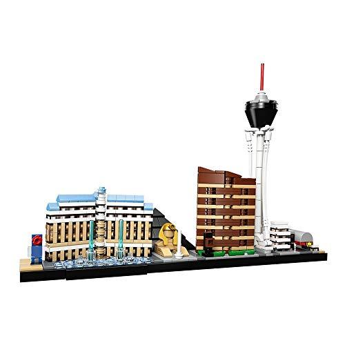 aolongwl Bloques de construcción Bloques De Construcción De Creatividad Compatibles 21047-1 Ladrillos De Arquitectura De Las Vegas Regalos Moc Juguetes De Bricolaje para Niños