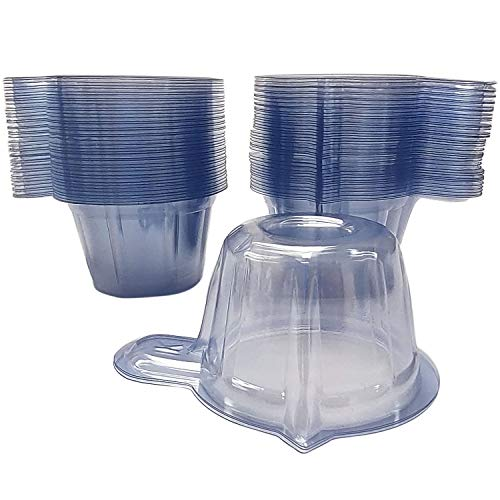 300PCS Urine Cups 40ml Plastic Disposable Urine Collection Cups Specimen Container for Pregnancy Ovulation Tests Laboratory Container PH Test