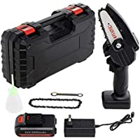 Befano Mini Cordless Electric Battery Chainsaw Kit with Portable Storage Box and Accessories