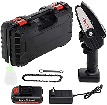 Befano Cordless Electric Battery Chainsaw Kit with Portable Storage Box