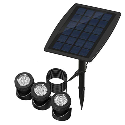 Lamparas Led Sumergibles Solares Marca ALLOMN