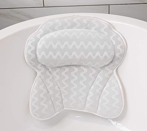 Bath Pillow By Soothing Company | Bathtub Cushion for Neck, Head, Shoulder...