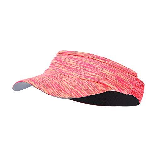 Sun Visor Headband UV Protection Lightweight Hat (Pink)