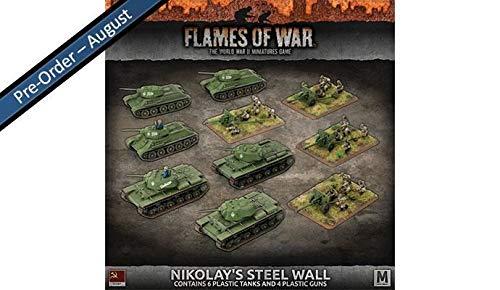 Flames of War: Mid War: Soviet Union: Nikolay's Steel Wall (SUAB09)