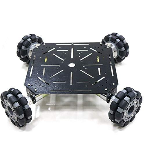 HARLT 4WD Frame Programable del Robot del Chasis del Coche De Acero con Manchas 4Pcs Motor De Corriente Continua De 12 V Gran Poder De Competencia Robot Owi De Coches De Juguete De Bricolaje