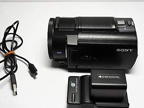 SONY 4Kビデオカメラ Handycam FDR-AX30 ブラック 光学10倍 FDR-AX30-B