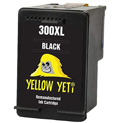 Yellow Yeti Remanufacturado 300XL 300 XL Cartucho de Tinta Negro para HP Deskjet D1660 D1663 D2530 D2545 D2560 D2660 D5560 F2420 F2480 F4210 F4240 F4272 F4280 F4580 F4583 Photosmart C4780 C4680