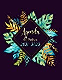 Agenda del Profesor 2021-2022: Calendario educacion - semana vista español - Grande agendas escolares para Profesores 2021...