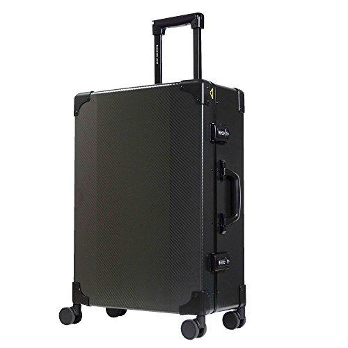 S型ブラック/DL-2457K(RECT)TSAロック搭載スーツケーストランクケース超軽量小型(1~3日用)