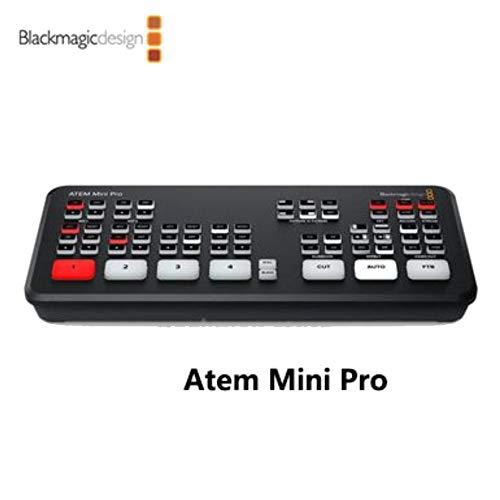 LookingSky Blackmagic ATEM Mini Live Switcher, volle Unterstützung und Steuerungsfunktionen für BMPCC 6K und 4K Kameras, gleichzeitige USB-Aufnahme ATEM Mini Por