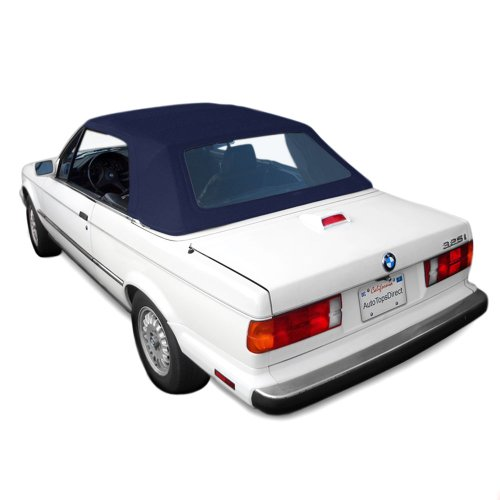 Sierra Auto Tops BMW 1987-1993 3 Series (E30) Convertible Top, TwillFast II Canvas, Blue