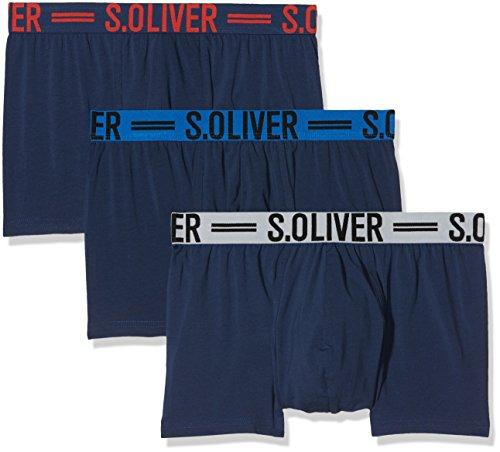 s.Oliver Herren 26.899.97 Boxershorts, (Blau 12c1), Large (Herstellergröße: 6)