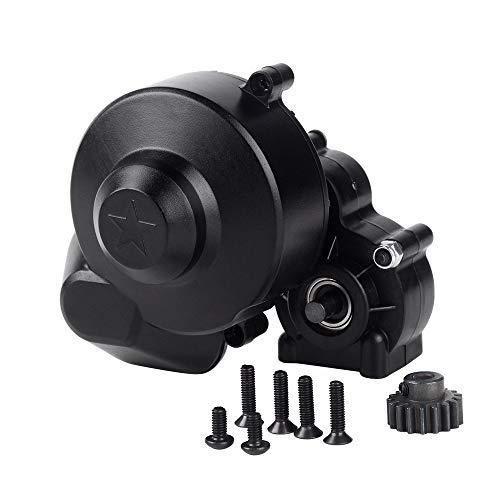 INJORA RC Gear Box Gearbox RC Transmission Box con Gear per 1/10 RC Crawler Car Axial SCX10 SCX10 II 90046 90047