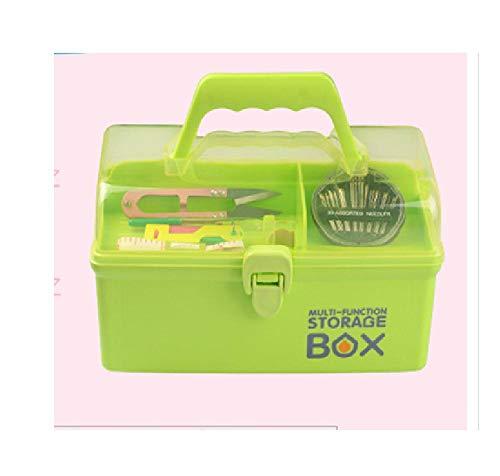 Huishoudelijke naaiboxset, handnaainaald, draagbaar, draagbaar naaigereedschap, opbergdoos A3